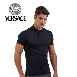 Versace Classic Polo Medium Vintage 100% Cotton